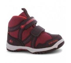 Dětská celoroční obuv Viking s GTX, Woodpecker Mid fuchsia 3-40385-8317
