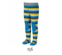 Froté punčocháče Sterntaler, ABS na chodidle, na nártu i na kolenou, 8751600-156
