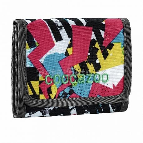 Peněženka CoocaZoo CashDash, Checkered Bolts 138456