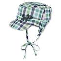 Čepice s kšiltem, plátěná, Sterntaler, UV filtr, oboustranná, 1611711-447