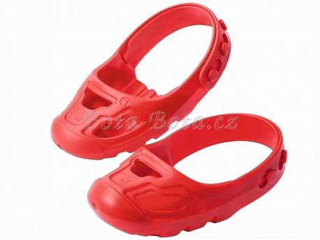 BIG chránič na boty červený