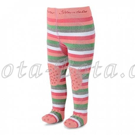 Froté punčocháče Sterntaler, ABS na chodidle, na nártu i na kolenou, 8651782-708
