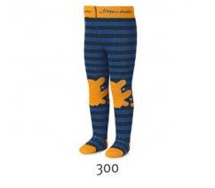 Froté punčocháče Sterntaler, ABS na chodidle, na nártu i na kolenou, 8751701-300