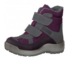 Dětská zimní obuv Ricosta 57243-363, Gebris, merlot, reflexní