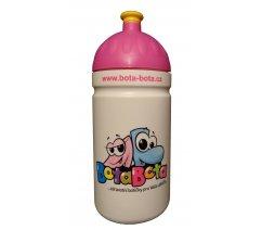 BotaBota lahev 0,5l růžové víčko