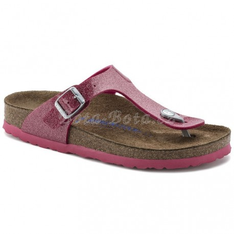 Dámské sandále Birkenstock 1003164, Gizeh SF, Magic galaxy bright rose