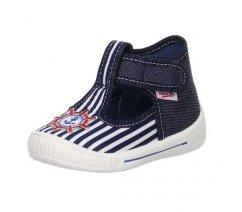 Dětská domácí obuv Superfit 8-00252-81