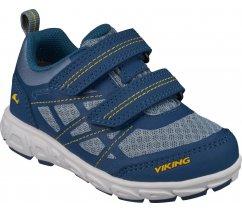 Dětská celoroční obuv Viking 3-47300-5572,Veme Vel, Petrol/Sun, GTX