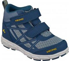 Dětská celoroční obuv Viking 3-47305-5572, Veme Mid,Petrol Sun, GTX