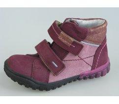 Dětská celoroční kožená kotníková obuv ESSI 1846