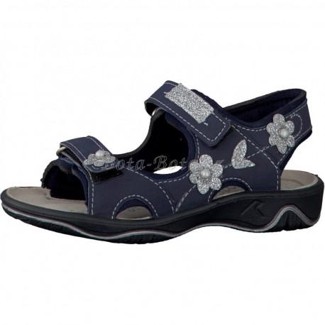 Dívčí sandály Ricosta 71237-187, Shari, Ozean