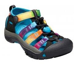 Outdorové sandále KEEN 1018447 NEWPORT H2 K, rainbow tie dye