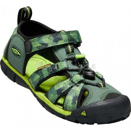 Outdorové sandále Keen 1018113 Seacamp II CNX, duck green/greenery