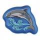 Vyměnitelný blikající obrázek Magic Mags Flash k aktovkám Step by Step Space Delfín