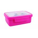 Zdravá sváča fluo fialová,svačinový box