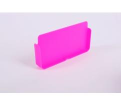 Dělící přepážka fluo fialová,MDVZS18DP753