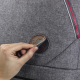 CoocaZoo MatchPatch doplňková sada, syntetická kůže Grey Melange
