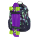 Školní batoh Coocazoo CarryLarry2, Green Purple District 138740
