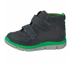 Dětská celoroční obuv Ricosta, 20273-453 Rory, grigio/grau/neongrun, s membránou