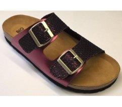 Dámské ortopedické sandále BioLife LENA BORDO 0014.