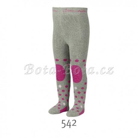 Froté punčocháče Sterntaler, ABS na chodidle, na nártu i na kolenou