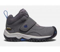 Zimní Keen dětské boty 1019855, KOOTENAY II WP C-MAGNET/BALEINE BLUE