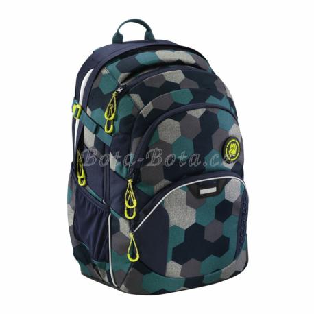 Školní batoh Coocazoo JobJobber2, Blue Geometr,HM183621