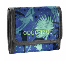 Peněženka CoocaZoo CashDash, Tropical Blue 183650