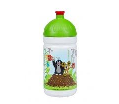 Zdravá lahev Krtek a jahody 0,5l - zelené,MDV050241