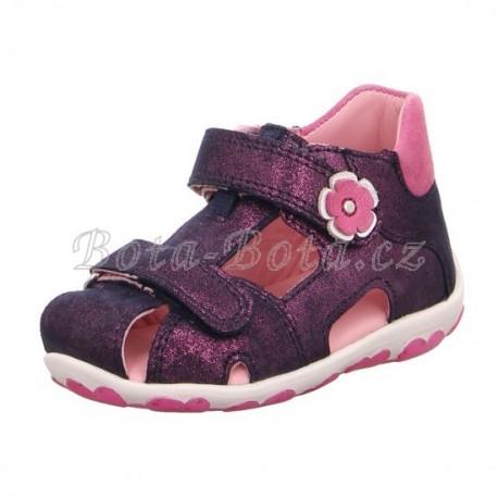 Superfit 4-09040-80 FANNI,dětská letní obuv,dětský sandále