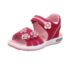 Superfit 4-09133-50 EMILY,Dětská letní obuv,Dětské sandále