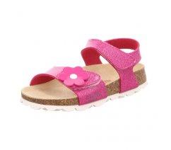 Superfit 4-00118-55 FUSSBETTPANTOFFEL, dětská letní obuv, dětské sandále, dětské přezůvky