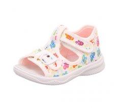 Superfit 4-00292-10 POLLY,dětská letní obuv,dětské sandále, dětské přezůvky