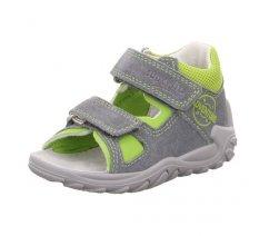 Superfit 4-09035-25 FLOW, dětská letní obuv, dětské sandále, dětské přezůvky