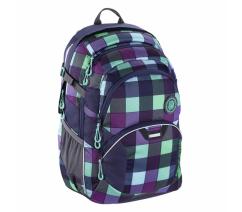 Školní batoh Coocazoo JobJobber2, Green Purple District,HM138723