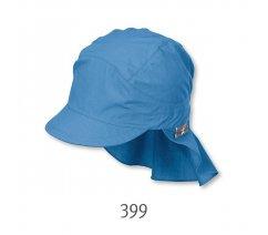 Plátěná čepice Sterntaler, UV filtr, ochrana na krku, 1531430-399