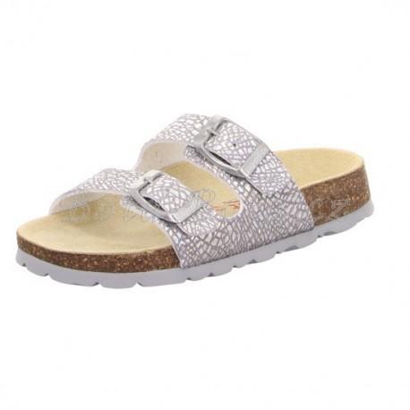 Dětské pantofle Superfit 5-00119-95 FUSSBETTPANTOFFEL