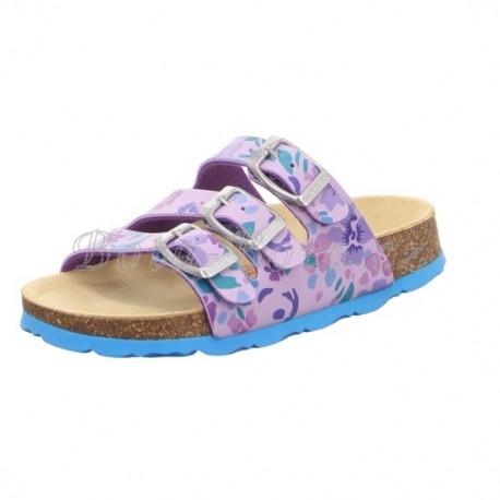 Dětské pantofle Superfit 5-00113-90 FUSSBETTPANTOFFEL