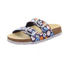 Dětské pantofle Superfit 5-00111-81 FUSSBETTPANTOFFEL