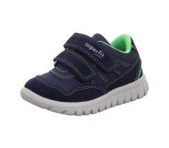 Dětská celoroční obuv Superfit  5-09191-80 SPORT 7, MINI
