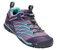 Dětské boty Keen 1017570 Chandler CNX WP Sneaker - Montana Grape/Aqua Haze