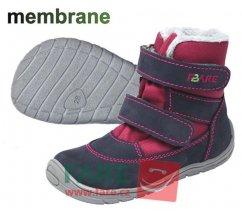 Dětská barefootová zimní obuv Fare, FINKY 5241291, nepromokavá