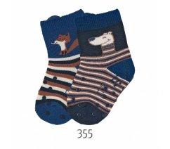 Protiskluzové ponožky, ABS i na nártu, Sterntaler, 8111924-355ler