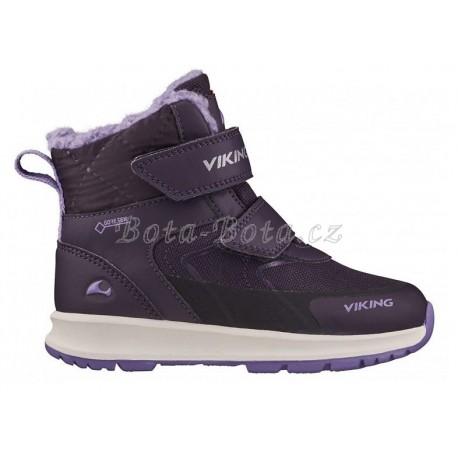 Dětské zimní boty Viking 3-89320-8316, Ella, Aub/purpl, GTX