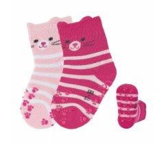 Sterntaler 8111921 Protiskluzové ponožky, ABS i na nártu, Sterntaler