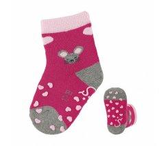 Sterntaler 8111902 Protiskluzové ponožky, ABS i na nártu, Sterntaler