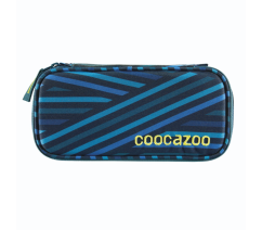 Penál coocazoo PencilDenzel, Zebra Stripe Blue,183883