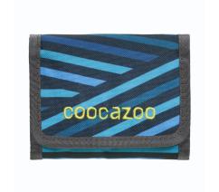 Peněženka coocazoo CashDash, Zebra Stripe Blue,183895