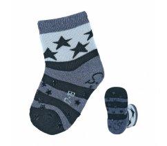 Sterntaler 8111900 Protiskluzové ponožky, ABS i na nártu, Sterntaler