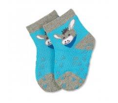 Sterntaler 801178-542 Protiskluzové ponožky, ABS i na nártu, Sterntaler